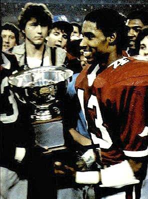 Arkansas' Gary Anderson (43) rushed for 161 yards and two touchdowns to win MVP honors at the 1982 Blue Bonnet Bowl.
