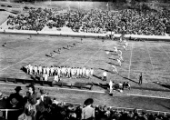 Arkansas tangles with SMU during the disatrous 1941 season. Arkansas won just three game that year and dropped all of its SWC contests.