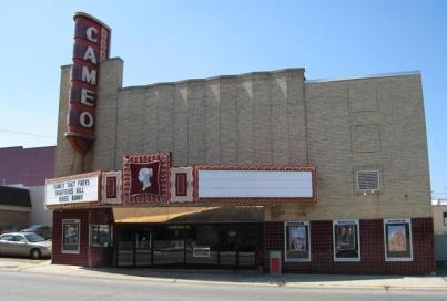 Once a palatial movie house, the Cameo Theater, 111 N. Jackson St. in Magnolia, has reportedly been split into a triplex. Other reports list the theater as open but only using one screen.