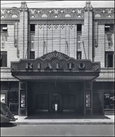 The Rialto Theater, located in downtown North Little Rock, opened in either the 1930s or 1940s. The Rialto was one of six theaters in downtown NLR in the 1950s.
