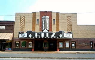 A contemporary photo of the Ritz Theater.