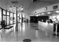 The interior of Cinema 150 in 1970. The domed theater opened in 1968.
