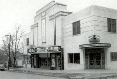 The UARK Theater, circa 1941. The theater, located at 645 Dickson Street in Fayetteville, was the premiere move house for University of Arkansas students in the 1950s and 60s.