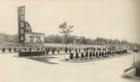 The Zebra Drive-In at S. Blake St. and Neely Dr. S. in Pine Bluff. The date of the picture is unknown, but the drive-in was opened sometime in the 1950s and closed in the mid 1980s.