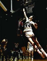 Arkansas received the SWC's only at-large bid for the 1980 NCAA Tournament, but the Hogs bowed out in the first round to Kansas State. Still, the success of the 1980 campaign laid the groundwork for a promising decade and provided glimpses of the excitement on the horizon. On Feb. 9, Houston defeated Arkansas 90-84 in a triple-overtime thriller at Barnhill Arena. Still the longest game in school history, it sparked a thrilling rivalry between the Hogs and Cougars -- the crown jewels of SWC basketball.