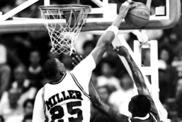 "In addition to the team's success, Richardon's ""triplets"" shined individually as well. All three were drafted in the first round of the 1992 NBA Draft and set numerous school records. Miller is still the school's all-time blocked shots leader with 345. Day, meanwhile, is Arkansas' all-time leading scorer, having netted 2,395 points."