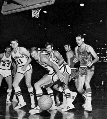 By the late 1960s, Arkansas basketball was on the brink of collapse. Fan interest was nonexistent and attendance was abysmal. Football overshadowed everything, and it didn't help that Barnhill Fieldhouse was more barn than fieldhouse. Its most athletic usage came as an indoor gym for the football players, who stirred up dirt that left a residue on the hardwood. Basketball coaches and players routinely had to sweep the court clean. Meanwhile, a section of fieldhouse bleachers were removed annually to add seating in Razorback Stadium.