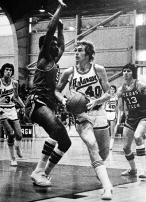 In four years at Arkansas, Van Eman compiled an underwhelming 39-65 record with no postseason appearances. His 1973 team lost to Texas Tech in the season's penultimate game. A win would've put Arkansas on track for the tournament. Still, the 1973 team finished 16-10 -- 9-5 in conference -- and Van Eman was recognized for guiding Arkansas to its best season in 16 years (and first winning season in seven years) with SWC Coach of the Year honors.