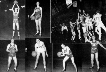 Arkansas continued dominating the SWC in the 1930s, winning conference titles in 1936 and 1938. But the 1941 squad triumphed by reaching the school's first Final Four. Only three years old, the tournament featured just eight teams, and Arkansas was the third school to represent the SWC. The Hogs beat Wyoming in the opening round before losing to eventual runner-up Washington State in the semifinals.
