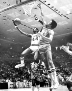 "Arkansas also returned to the NCAA Tournament in 1977 -- the Hogs' first postseason appearance since 1958. Wake Forest outlasted Arkansas in the opening round, 86-80. Despite the season's abrupt climax, the Hogs had established a successful foundation around a star trio -- nicknamed ""The Triplets"" -- and a bevy of role players. The stage was set for 1978 to be a banner year."
