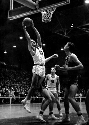 Barnhill Fieldhouse was officially dedicated on Friday, Jan. 13, 1956, when a near sellout crowd watched Arkansas crush SWC foe Rice 84-70. The fieldhouse at that time held about 5,000 fans, and the Razorbacks of that era often drew large crowds.
