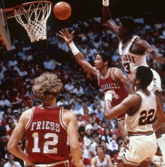 While the NCAA Tournament of the modern era has been defined by exciting, down-to-the-wire finishes, the 1981 tournament is widely regarded as a watershed moment for college basketball. Thanks to a bevy of nail-biting endings -- three spectacular buzzer beaters in just one day -- and several upsets, the 1981 tournament is the origin of March Madness.