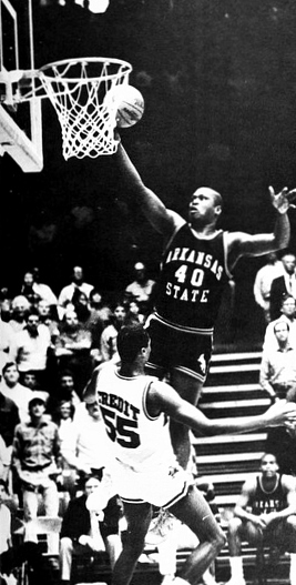 "In the first round of the NIT, Arkansas hosted Arkansas State. It was the fourth meeting between the two programs, with the last match up dating back nearly four decades. As Arkansas Fight noted, ""Speculation was rampant that a loss to the then-Indians -- whom, along with other in-state schools, Frank Broyles refused to schedule regular season games against -- would result in (Richardson) getting canned."""