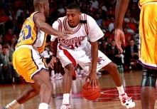 The Hogs' leading scorer that year was Scotty Thurman, a forward from Ruston, Louisiana — a small city about 40 miles south of the Arkansas border. Paired with super sophomores Clint McDaniel and Corey Beck, the Hogs reached the Sweet 16 of the 1993 NCAA Tournament, falling just short to eventual champion North Carolina.