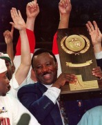 "While Hogs fans the state over -- including President Bill Clinton -- were overjoyed that Arkansas had reached the pinnacle of college basketball, Richardson found vindication that went beyond the hardwood. The first black head coach to win a national title since Georgetown's John Thompson in 1984, Richardson told the press, ""hopefully this will do something for the people who come behind me and want to be coaches."""