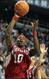 Heath's tenure is probably best remembered for the popular players he coached. They included Ronnie Brewer, Jr., (pictured above), Jonathan Modica, Steven Hill, Sonny Weems, Patrick Beverly and Charles Thomas.