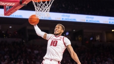 Daniel Gafford, a 6-10 high-flying center from El Dorado, made it worth turning in for every game. The freshman phenom wowed fans and national audiences with his spectacular dunks.