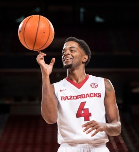 Daryl Macon, a Little Rock native and Parkview gradaute, transferred to Arkansas for the 2016-17 season. Surrounded by homegrown talent, Arkansas returned to form, winning 23 games and reaching the SEC Tournament Championship game before losing (again) to Kentucky.