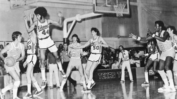 Under Van Eman, the Razorbacks played an exciting, up-tempo brand of basketball. Van Eman's run-and-gun style was ahead of it's time, and Arkansas basketball later flourished under an improved system implemented by head coach Nolan Richardson.